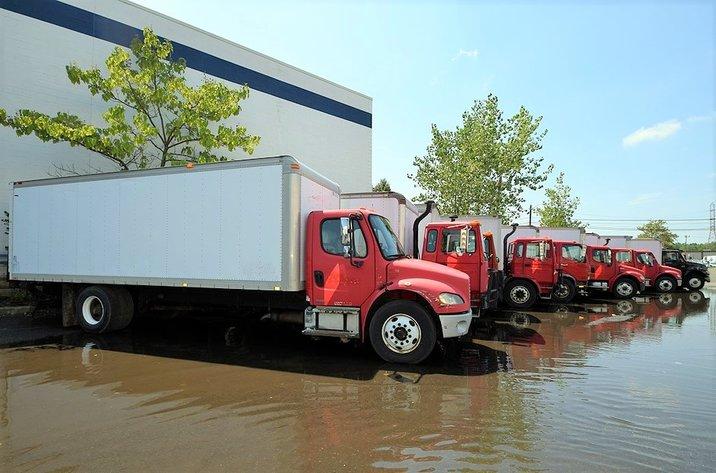 Box Trucks, Truck Tractor & Forklift