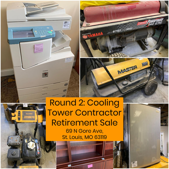 Round 2: Cooling Tower Contractor Retirement Sale