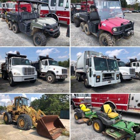 City of Greensboro Surplus Rolling Stock