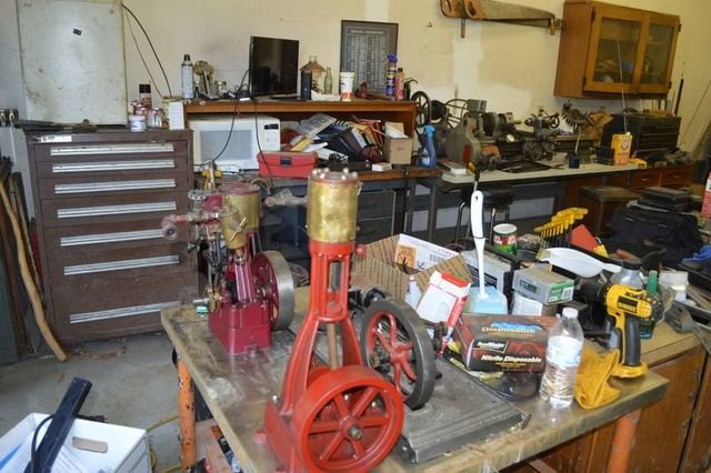 Steam Engines, Shop Equipment, Collectibles, RR Items