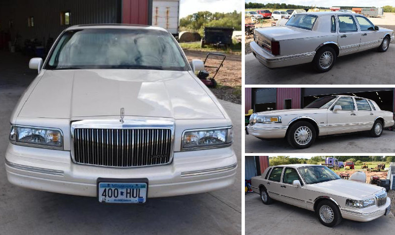 1997 Lincoln Town Car, John Deere 155C, Honda 3-Wheeler & 1999 Cavelier 30' 5th Wheel Camper