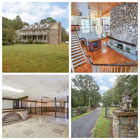 Stately 5 BR/4.5 BA Home w/In-Law Suite on 38.9 +/- Acres in Louisa County, VA