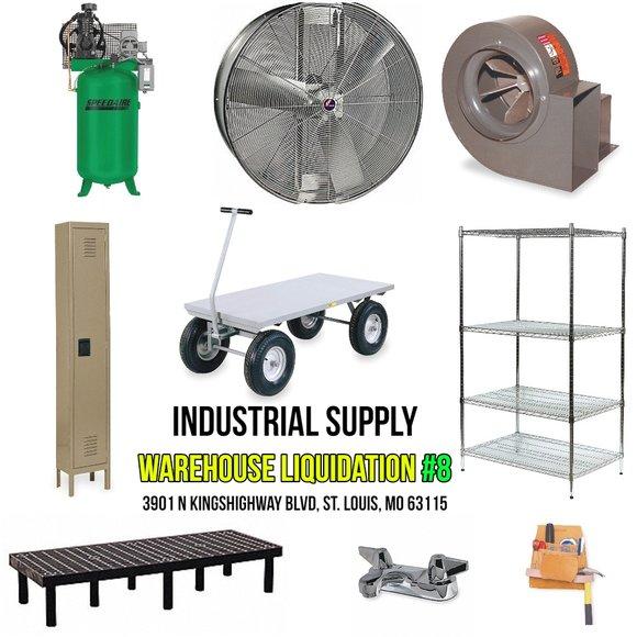 Industrial Supply Warehouse Liquidation #8