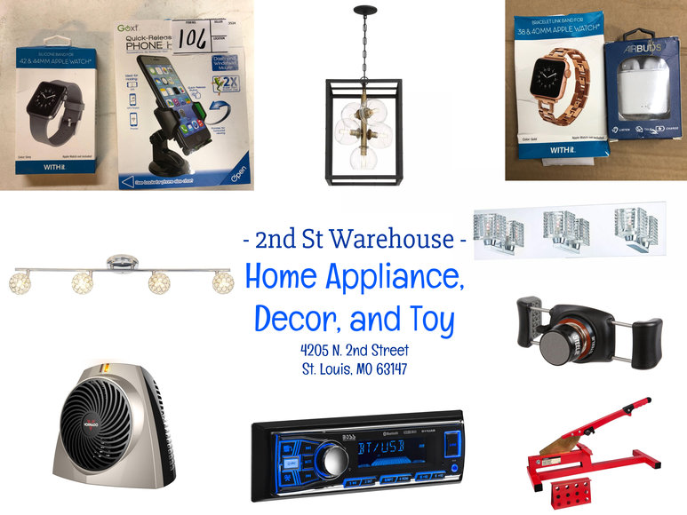 2nd Street Warehouse - Home Appliance, Decor, TOYS!