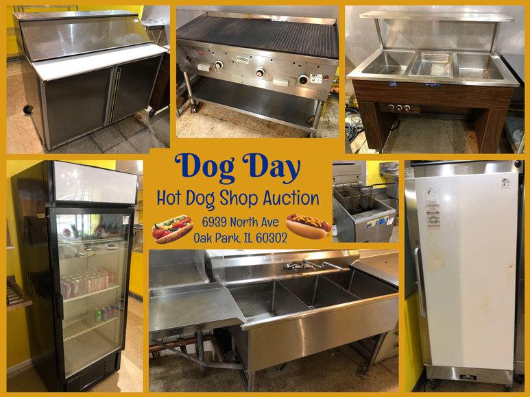Dog Day Hot Dog Shop Auction