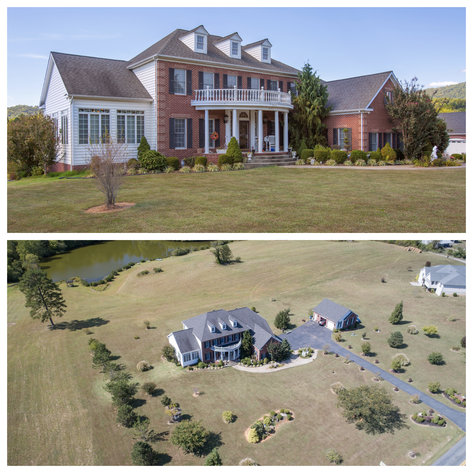 Stately 5 BR/5.5 BA Home on 3.5 +/- Acres in Albemarle County, VA--SELLING to the HIGHEST BIDDER!!