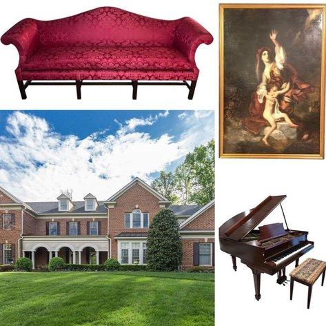 $2.6 Million Mansion, The Reserve McLean Online Auction