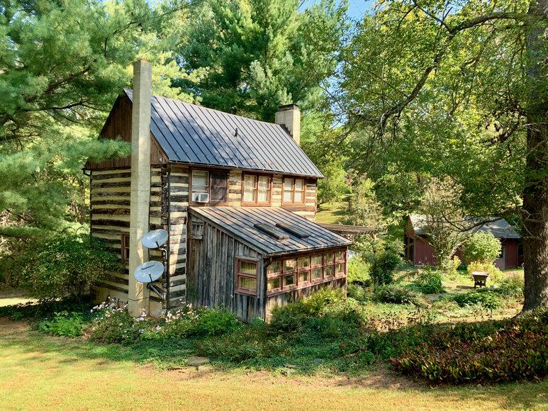 Historic 2 BR/2 BA Log Cabin on 6 +/- Acres in Loudoun County, VA