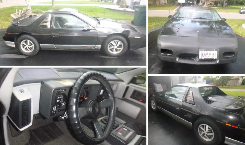 1985 Pontiac Fiero GT High Performance Edition