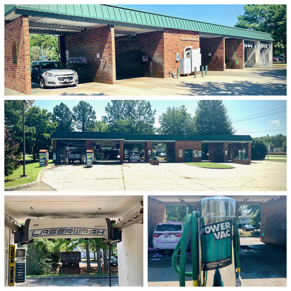 Operational & Income Producing 6 Bay Car Wash in Hampton Roads