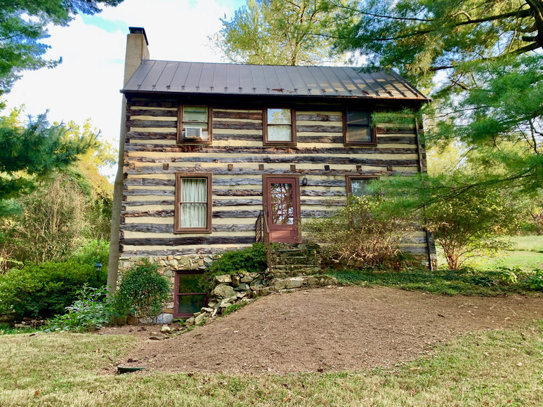 Historic 2 BR/2 BA Log Cabin on 6 +/- Acres in Loudoun County, VA
