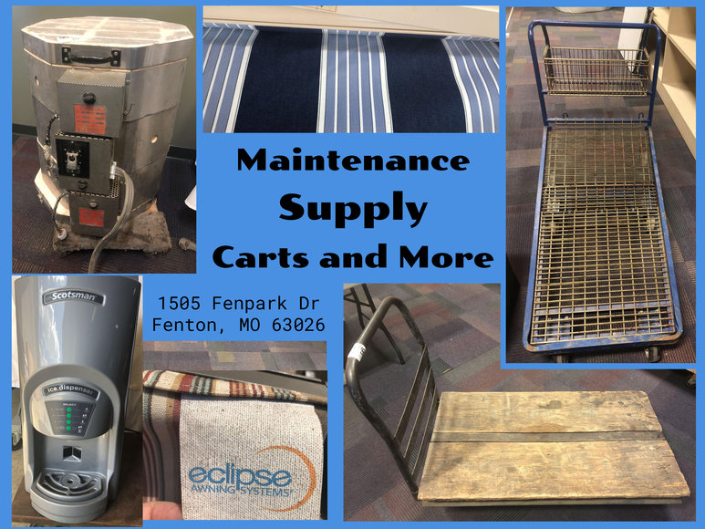Maintenance Supply: Carts and More
