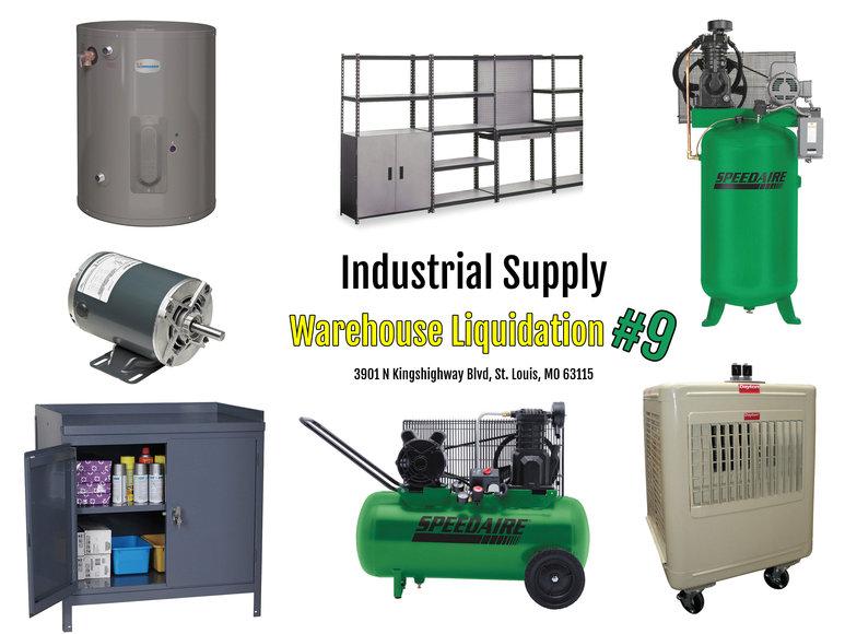 Industrial Supply Warehouse Liquidation #9