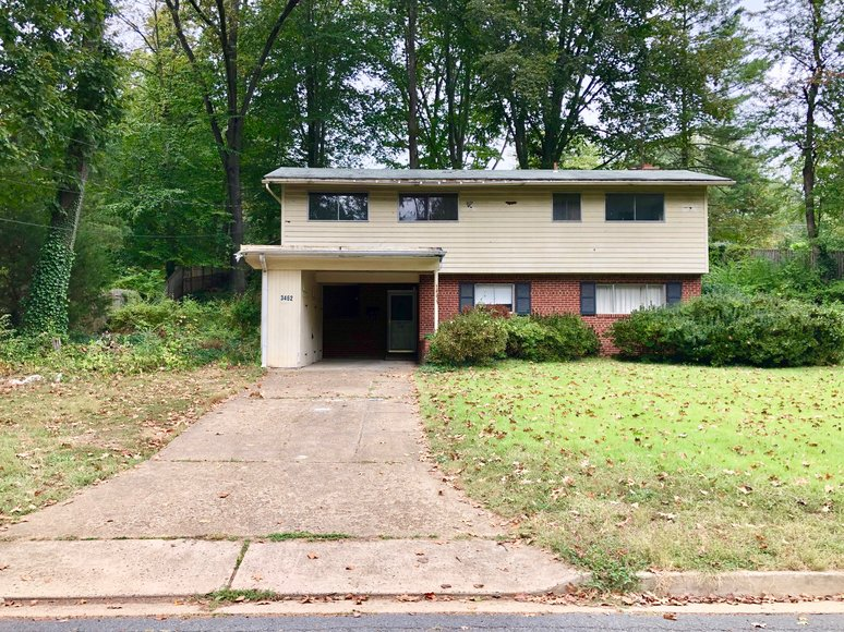 4 BR/2.5 BA Home Located Inside the Beltway in Fairfax County, VA