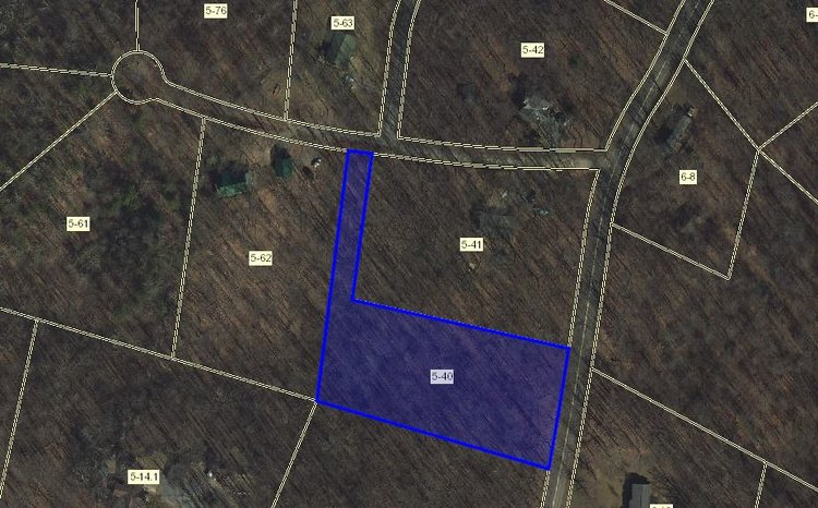 Treeland Hills Subdivision Lot 1, 2.116 Acres Online Only Auction