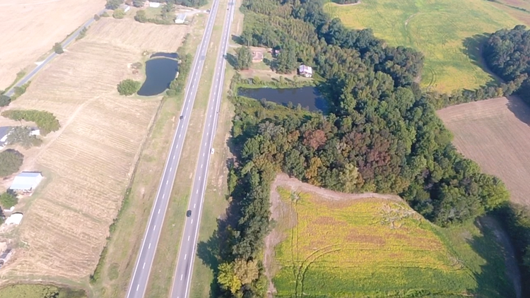 10+/- Acres Located on Highway 601 in Monroe, NC
