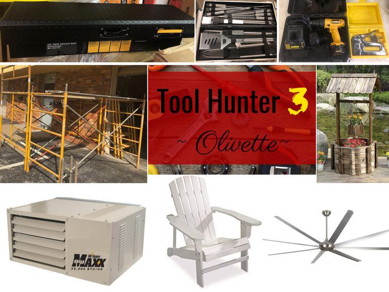 Tool Hunter 3 - Olivette