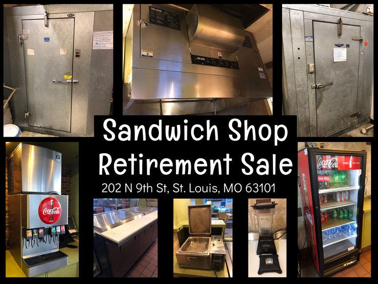 Sandwich Shop Retirement Sale