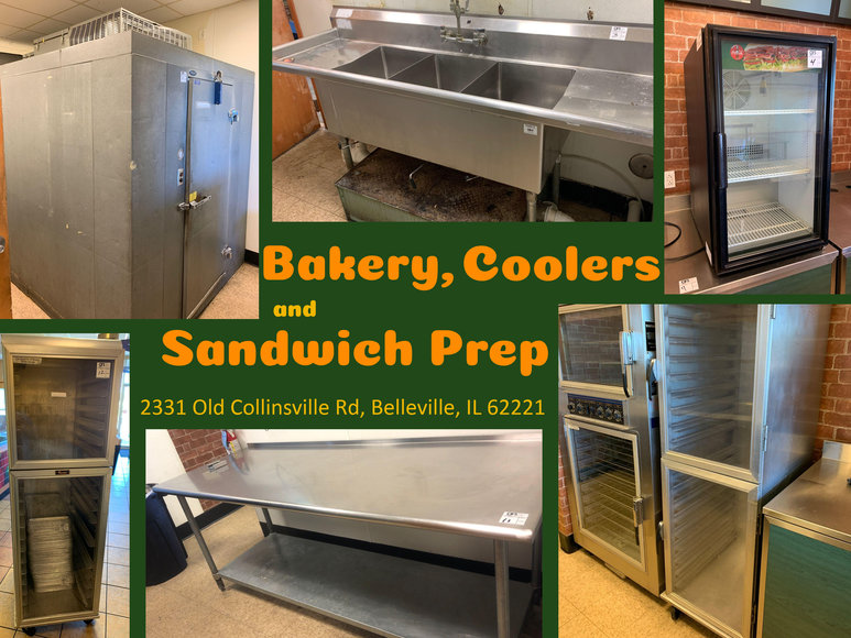 Bakery, Coolers and Sandwich Prep