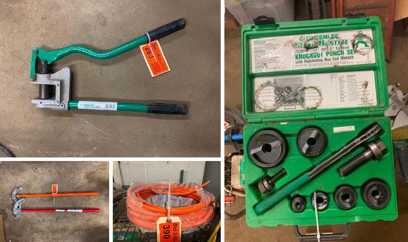 Electrical Contractor Equipment
