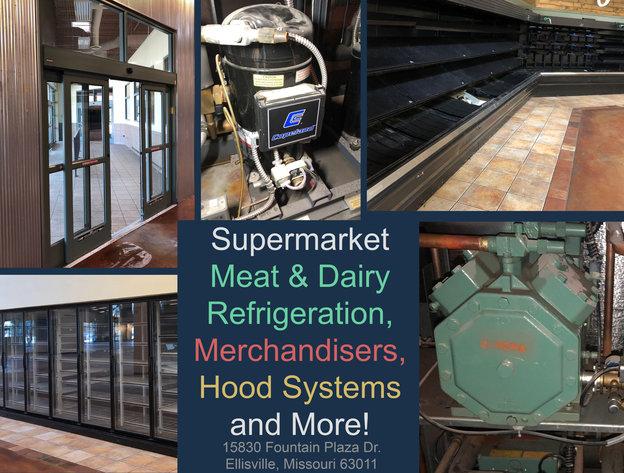 Supermarket Meat Amp Dairy Refrigeration Merchandisers
