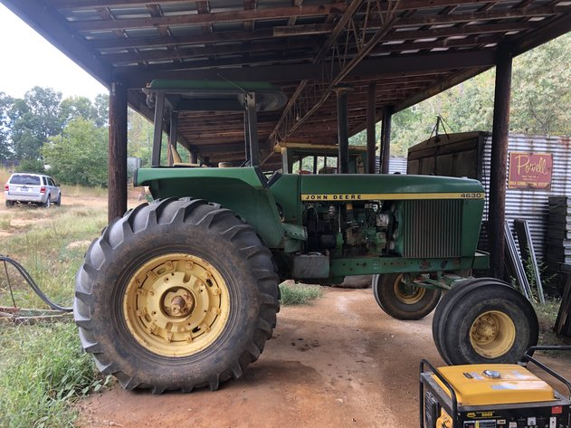 Bankruptcy Auction of Tobacco Farming Equipment
