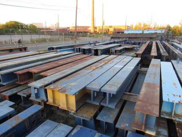 Bigge Crane Amp Rigging Co Asset Realignment Auctions 6 Of 6 Surplus Steel Amp Beams