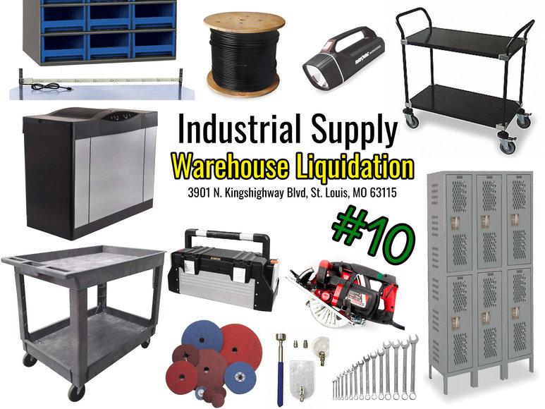 Industrial Supply Warehouse Liquidation #10