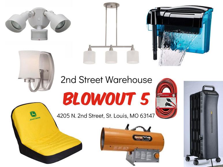 2nd Street Warehouse - Blowout 5
