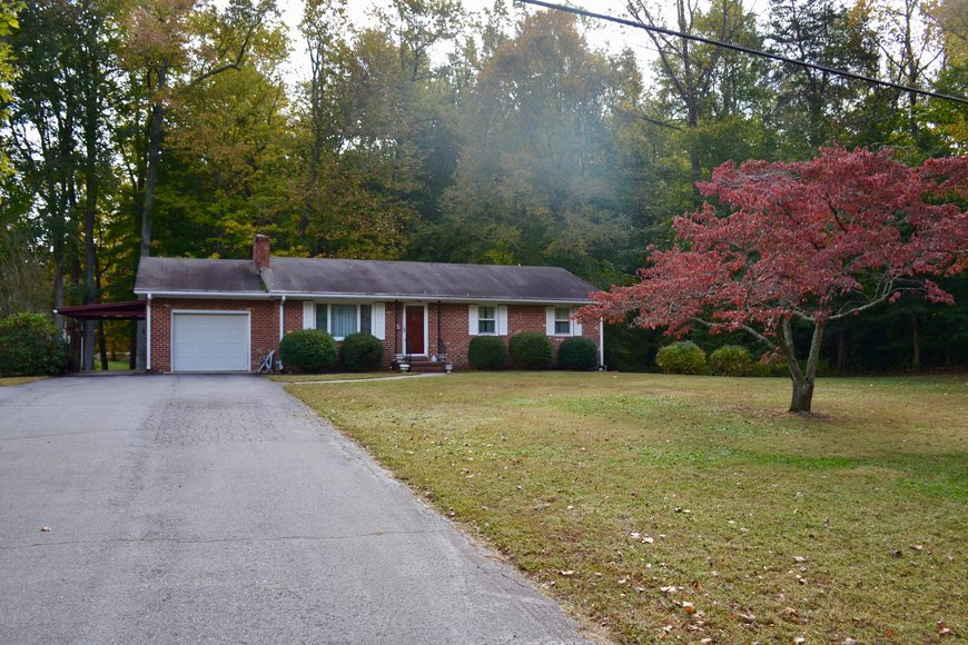 Well Built 3 BR/3 BA Brick Home w/Walk-Out Basement on 1.8 +/- Acres in King George County, VA