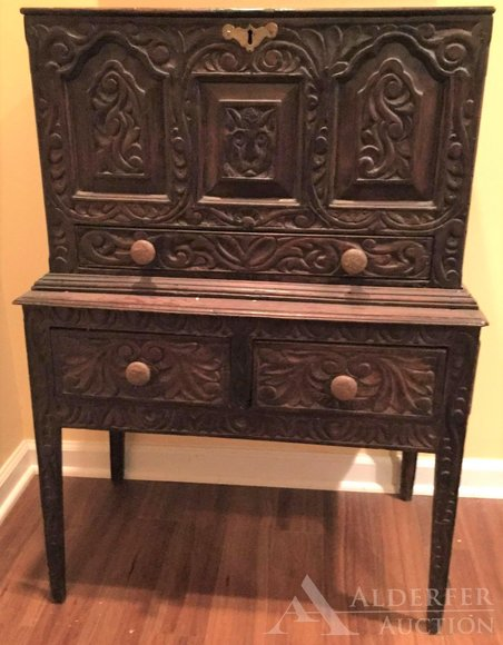 Alderfer Online - Bethlehem, PA: 11-11-19   Auction Features Beautiful Home Furnishings & Collectibles Including English Bible Box, Pennsylvania House Wingback Chairs, Artwork, Royal Worcester China, Barometer, Oriental Rugs, Decoratives, & More