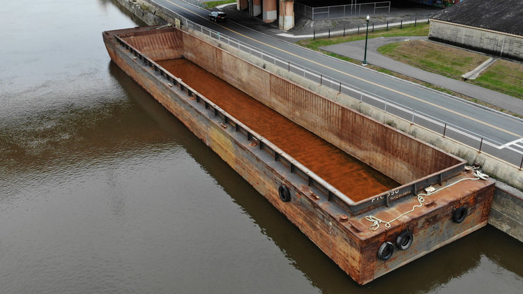Hopper Barge Vessel PTC-550 (Build Year 2005)