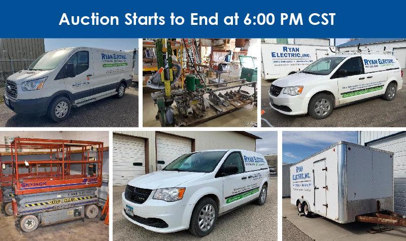 Ryan Electric Inc. Complete Liquidation, Phase 1