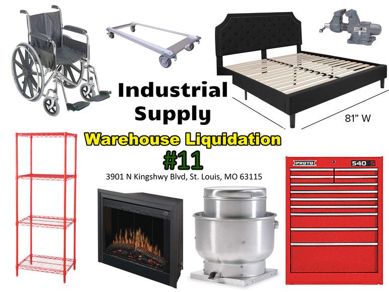 Industrial Supply Warehouse Liquidation #11