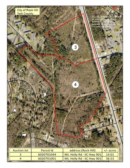 Bank Owned Commercial Acreage & Residential Lots In North & South Carolina