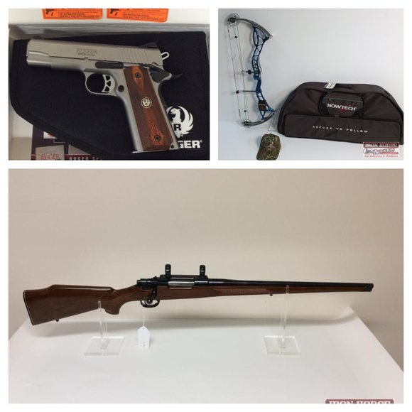 Firearms, Ammo, Sporting Good Accessories and Much More