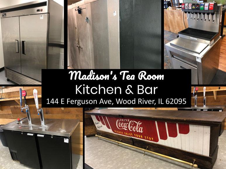 Madison's Tea Room - Kitchen & Bar