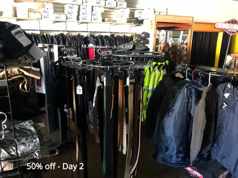 Bankruptcy Going Out Of Business Sale Day 2 (50% Off)