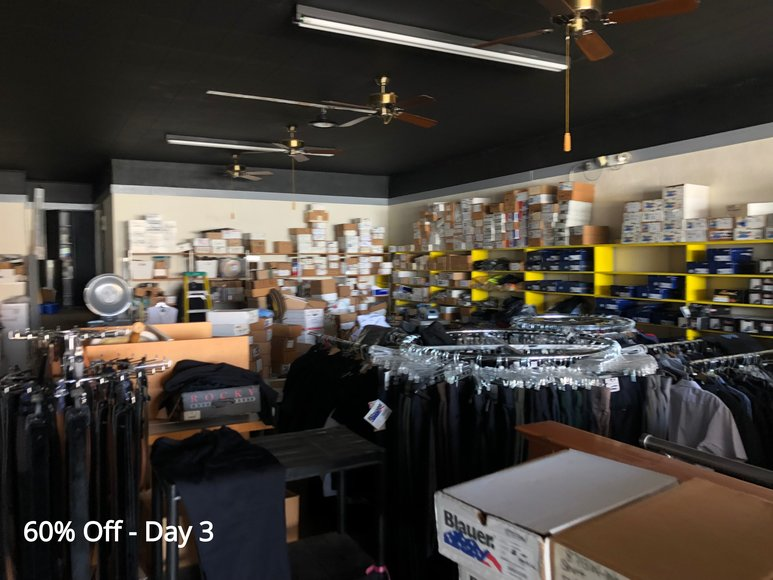 The Showfety's Bankruptcy Going Out Of Business Sale Day 3 (60% Off)