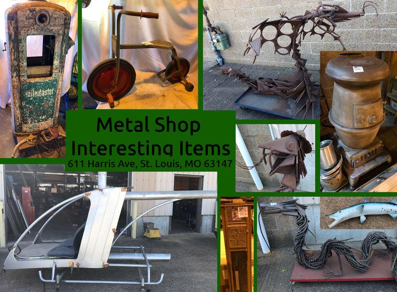 Metal Shop Interesting Items