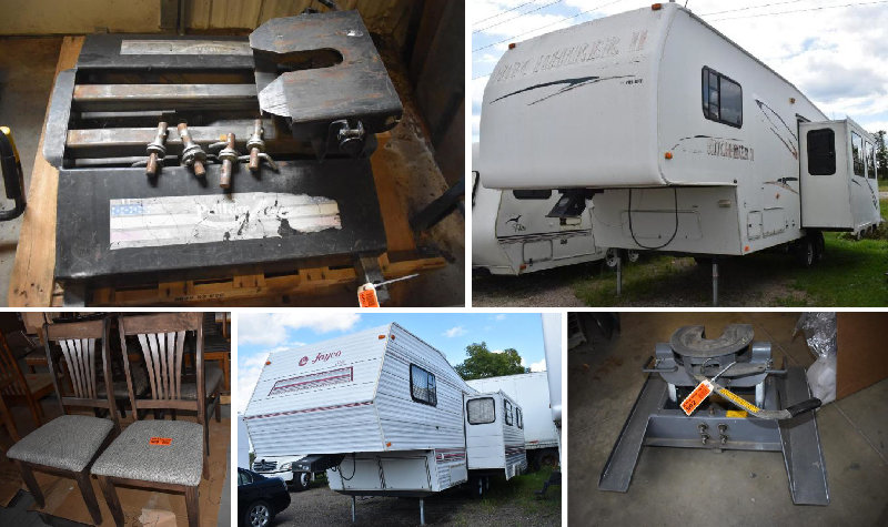 Toy Hauler, Campers, 5th Wheel Hitches, Camper Parts