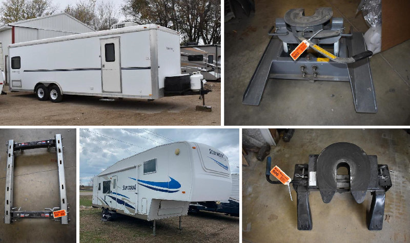 Toy Hauler, Campers, 5th Wheel Hitches, Camper Parts & Accessories