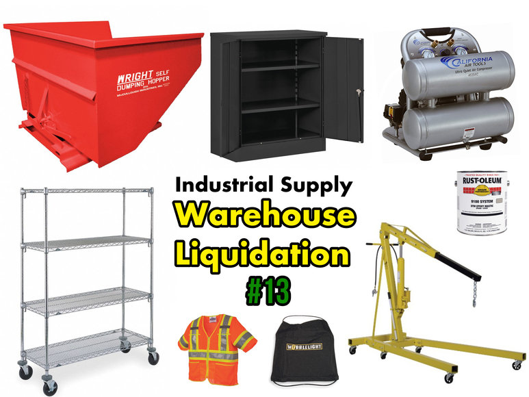 Industrial Supply Warehouse Liquidation #13