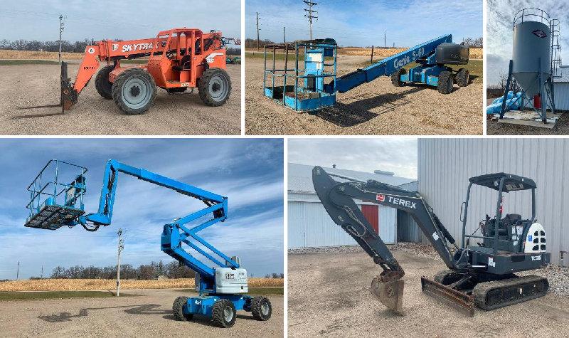 Fleet Maintained Rental Equipment Reduction and Truck Bodies