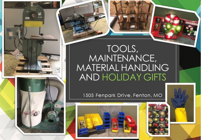 Tools, Maintenance, Material Handling and Christmas Gifts