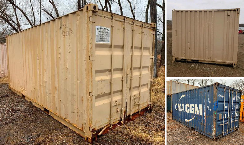 TKI Surplus Storage Containers