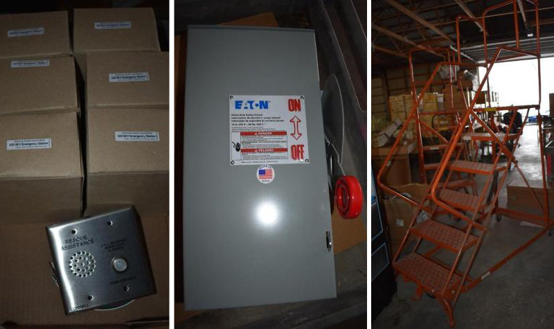 Surplus Electrical Hardware and Supplies