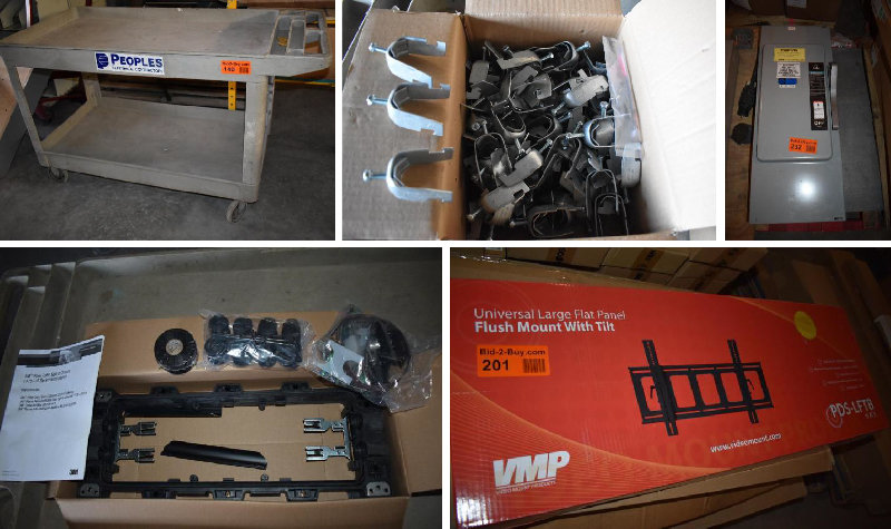 Surplus Electrical Hardware and Supplies - More Lots Added