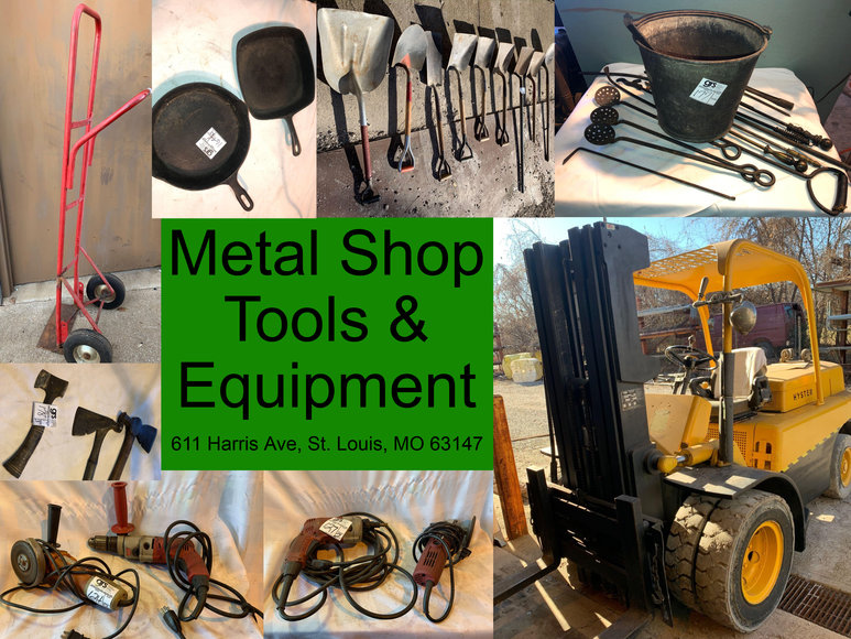 Metal Shop Tools and Equipment
