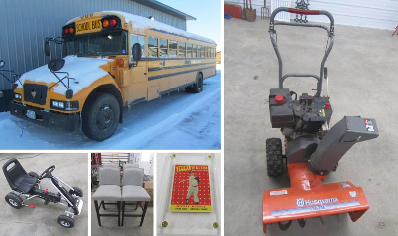 Ideal Corners Early January Consignment Auction